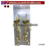 Ganci di portello della Bell della decorazione di festa di natale del rifornimento del partito mini (CH8096)