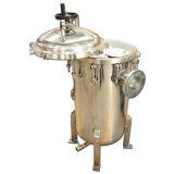 Cárter del filtro de bolso de filtro de agua
