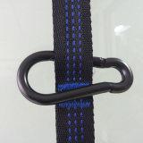 Hammock de acampamento dobro - Hammock de grande resistência portátil - pára-quedas de nylon da tela da cor de pouco peso da mistura para ao ar livre. As cintas do Hammock & Carabiners de aço incluem