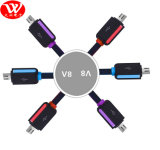 cable de datos del USB 1meters con el embalaje