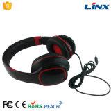 Kundenspezifischer Firmenzeichen-Kopfhörer-Markenname mit Mic-faltbarem Kopfhörer