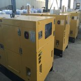 60Hz 1800rpm 물에 의하여 냉각되는 삼상 250kVA 방음 디젤 엔진 발전기 가격