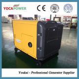 генератор электрической силы старта 5kw звукоизоляционный тепловозный