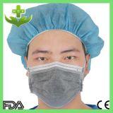 Mascarilla quirúrgica del carbón activo dental