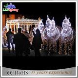 Luz de Carraige do cavalo da abóbora do Natal da luz do feriado da luz da decoração do Natal do diodo emissor de luz