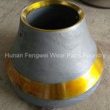 Peças sobresselentes Wear-Resistant do triturador do cone da fundição da carcaça