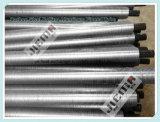 Tubo alettato dello scambiatore di calore dell'acciaio inossidabile