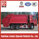 HOWO Compression Refuse Truck Garbage Truck 6X4, 290HP, für Sell