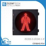 300mm 12インチの赤い歩行者LED停止信号