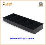 Cajón de gran tamaño del efectivo y cajón resistente del efectivo del rectángulo del efectivo para los periférico Qt-450 de la posición