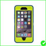 Caixa Dustproof Shockproof impermeável do telefone do defensor para o iPhone 6 positivo