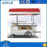 Carrinho de gelado de aço inoxidável com sabor 6 / Preço de Push Cart