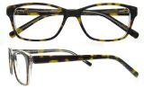 Eyeglass novo Eyewear dos frames óticos dos vidros do acetato do projeto