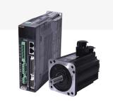 Preiswerte Preis 1kw 220V Wechselstrom-Servobewegungshohe Drehkraft niedrige U/Min mit Fahrer für CNC-Maschine
