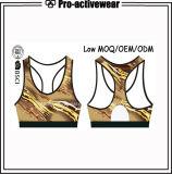 新しい方法低いMOQ女性体操のボディービルActivewear (昇華)