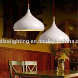 Светильники самомоднейшей белой алюминиевой кофейни декоративные привесные