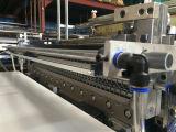 4 linha saco da selagem do aquecimento e da estaca fria que faz a máquina