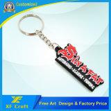 Großverkauf kundenspezifische Belüftung-Gummischlüsselkette mit irgendeinem Firmenzeichen für Förderung (XF-KC-P26)