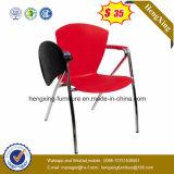 Cadeira de dobramento de escrita plástica moderna do treinamento de Pades da mobília de escritório da escola (HX-TRC005)