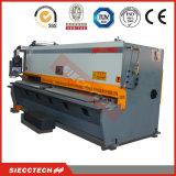 Tesoura da guilhotina, máquina de corte hidráulica da máquina de estaca do metal de folha do CNC