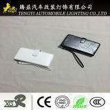 Paare PU-Telefon-Kasten-Kartenhalter mit dem Spiegel Schwarzweiss