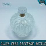 bottiglia a lamella di vetro vuota libera rotonda del diffusore 350ml