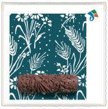 벽 훈장 꽃 패턴 페인트 롤러