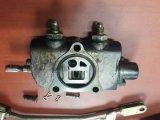 Soupape de commande de pétrole hydraulique de chariot élévateur de Nichiyu, noyau de valve de hausse, de commande tringle
