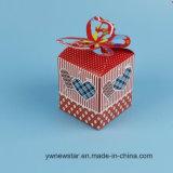 Nuevo rectángulo del amor del regalo de Apple del papel del estilo de la Nochebuena