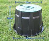 Ventilgehäuse 10 Zoll rund für Bewässerung-Regelventil-Schutz