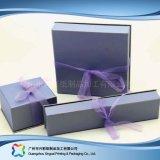 Caixa de empacotamento de madeira do indicador do relógio/jóia/presente do cartão ajustada (xc-hbj-043)