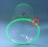 Sac gentil d'empaquetage en plastique de PVC de cercle (YJ-A028)