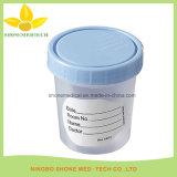 Urin-Probenmaterial-Ansammlungs-Cup mit Temperament-Streifen
