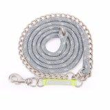 鎖が付いている多彩な馬の鉛ロープ