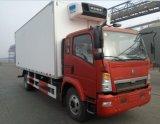 HOWO 4X2 de Vrachtwagen van de Ijskast 10ton