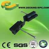 Dispositif de fixation caché par prix bon marché pour le Decking de WPC
