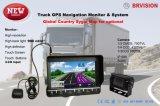 Sistema de reversão de navegação GPS para caminhões