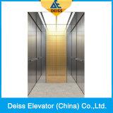 Лифт пассажира комнаты машины Vvvf селитебный домашний с противоположной дверью