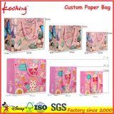 Sacchetti promozionali del regalo del sacchetto/imballaggio di acquisto del documento del regalo della maniglia di alta qualità