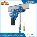 Grua Chain elétrica da altura livre ultra baixa de 5 T Liftking