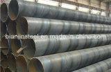 Precio razonable para los tubos de acero de carbón de SSAW