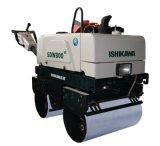 Бензиновый двигатель гуляя за ручным вибрируя роликом Compactor тонны дороги Roller/1 Vibratory