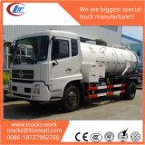 Caminhão sujo útil da sução da água de esgoto do medidor de 4X2 Rhd 8cubic