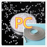 Weißes Polycarbonat-Körnchen
