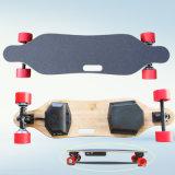 Longboard eléctrica de doble cubo del motor 4 ruedas de skate