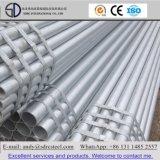 Tubulação de aço pre galvanizada redonda