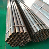 Tubulações de aço pretas do tipo ASTM A500 A53 Q235B ERW de Youfa com extremidades lisas e revestimento oleado