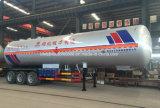 reboque do tanque de gás 60m3 liquefeito 60000 do LPG litros de caminhão do transporte