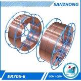 Fil de soudure de CO2 Er70s-6 fabriqué en Chine