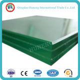 O vidro de segurança/vidro laminado do espaço livre pode cor matizada